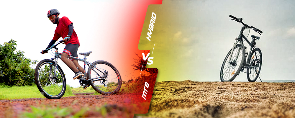 Hybrid Vs Mountain Bikes – Choose the Right Bike for Your Needs