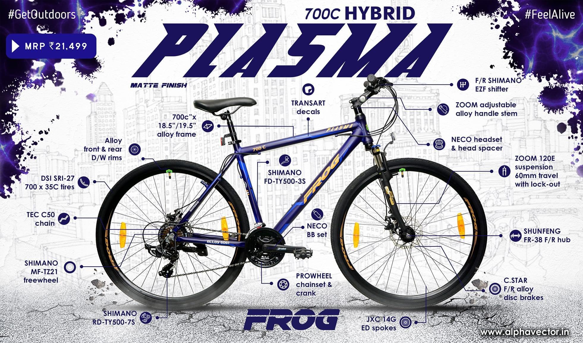 Plasma 700C Violet (18.5