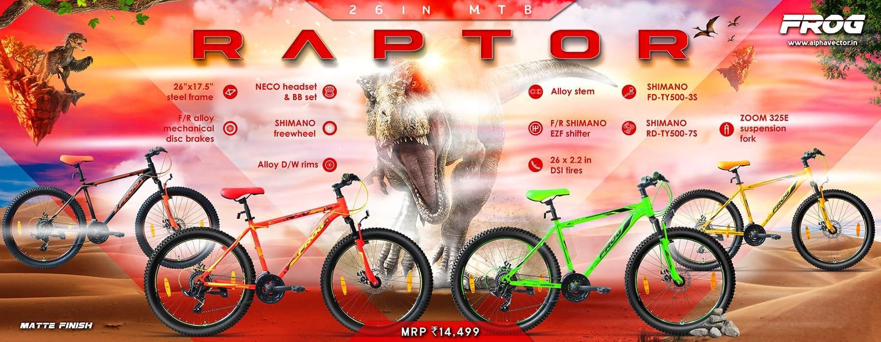 Raptor 26 Yellow image 2
