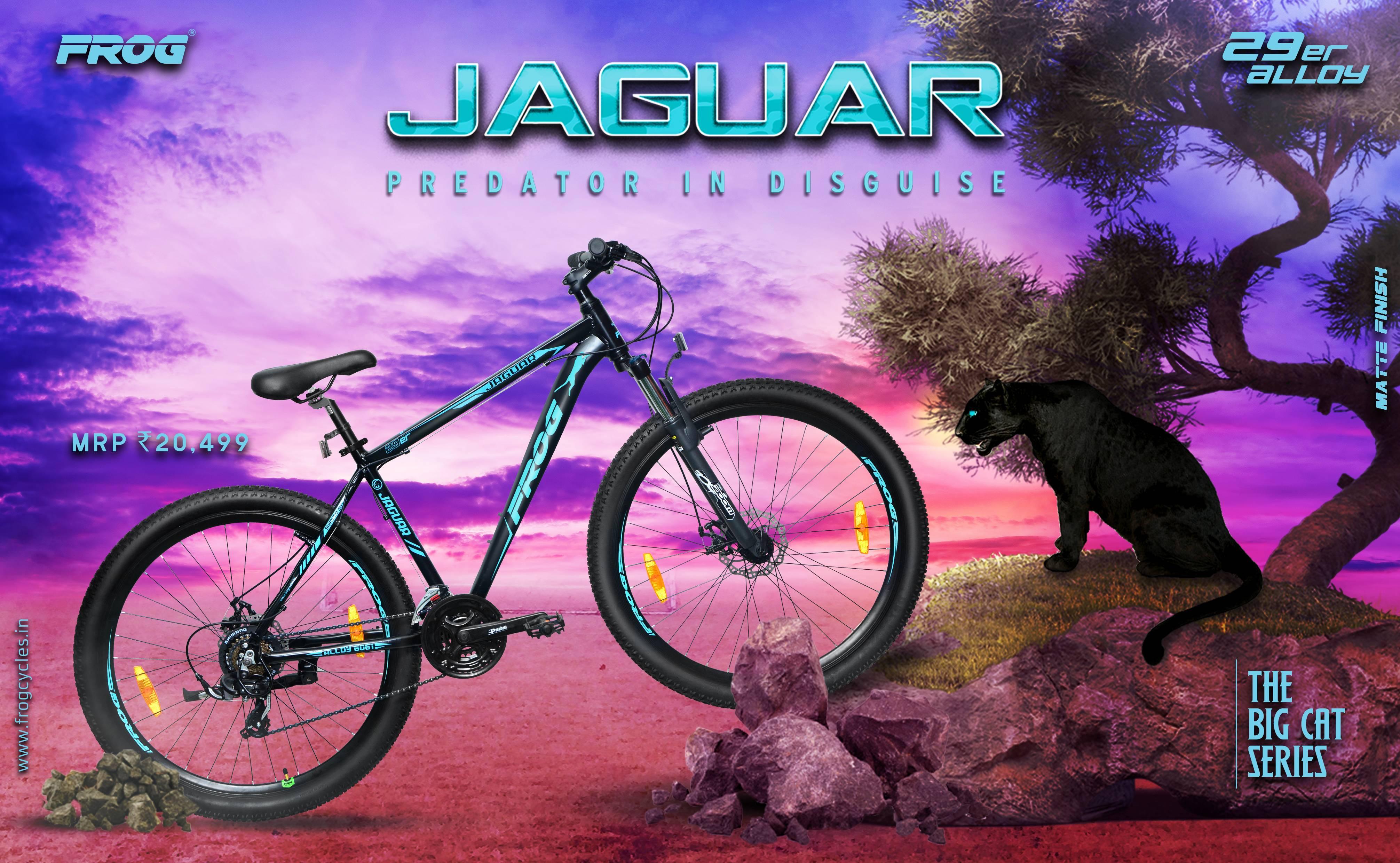 Jaguar 29 Black Green image 2