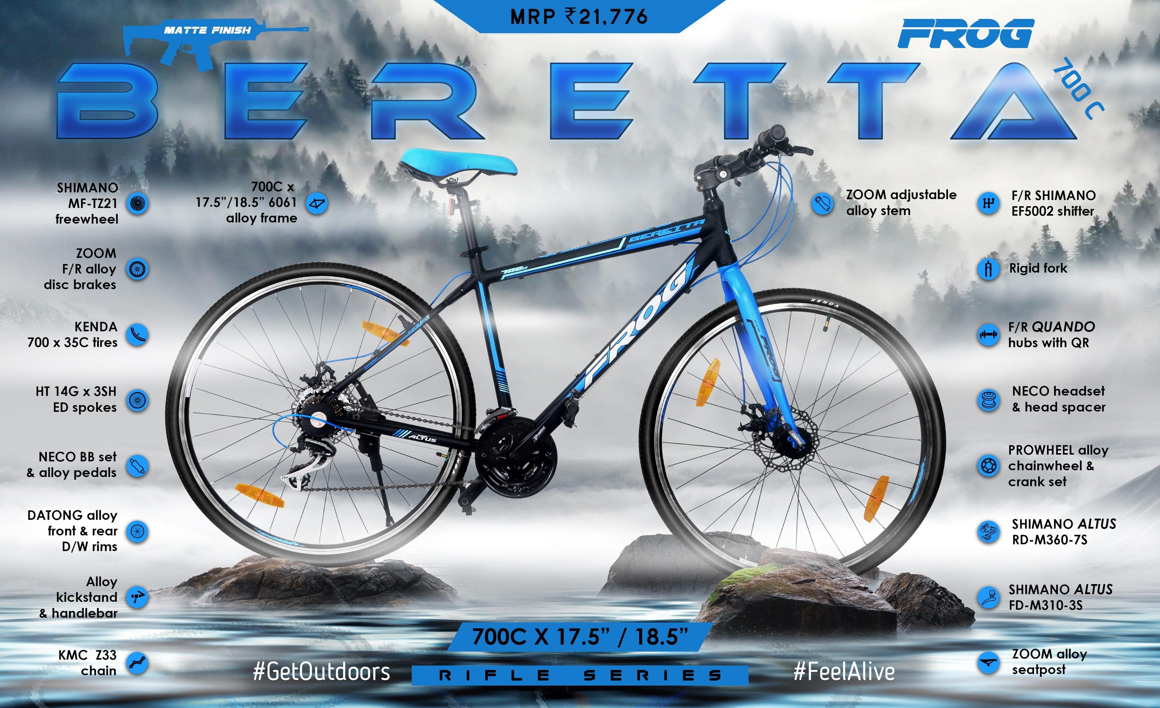 Beretta 700C Blue (17.5