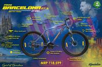 Barcelona 27 5 Blue Maroon thumbnail image 2